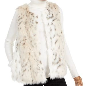 Say What Snow Leopard Vest From Macy's